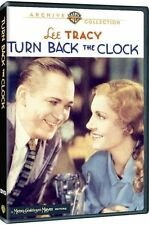 TURN BACK THE CLOCK - (1933 Lee Tracey) Region Free DVD - Sealed