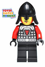 *NEW* LEGO x1 Castle Minifig Dragon Knight Kingdoms Minifigure Helmet Scale Mail