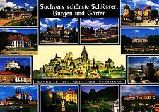 Sachsens schönste Schlösser, Burgen und Gärten  , Ansichtskarte