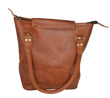 Real Leather Brown Vintage Women's Bag