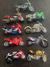 MOTORBIKE toy model motorcycle motor bike collection job lot of 9