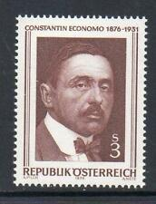 Austria Gomma integra, non linguellato 1976 SG1765 nascita centenario di Constantin Economo