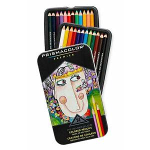 [Prismacolor] Premier Soft Core Colored Pencils 24 Multi Colored Pencils Set