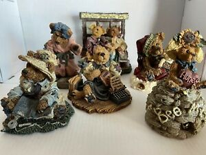 Boyds Bears Collection-6 Figurines 1994-2003