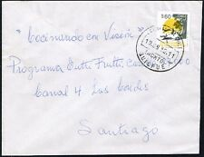 493 CHILE COVER 1992 ECOLOGY ENVIRONMENT QUILPUE - SANTIAGO