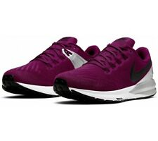 Nike Womens Air Zoom Structure 22 UK 5.5 True Berry Black Silver AA1640-602