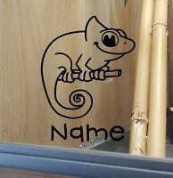 Chameleon Customised Vivarium Decal Sticker