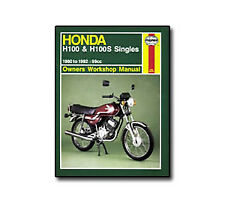 Honda H 100 H 100S Singles Haynes Workshop Service Manual Book 0734