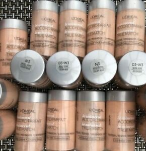 L'Oreal True Match Mineral Accord Parfait Foundation Sample/Testers x 2