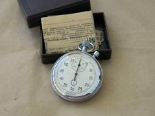 AGAT 1981 with box USSR vintage mechanical stopwatch