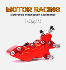 CNC Aluminum Racing Motorcycle 4 Piston Brake Caliper Modification Accessories