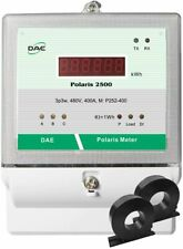 Dae P252-400-S Kit, Ul kWh meter, 480v, 3P3W(3 hot wire,no N), 400A, 2 Cts,Rs485