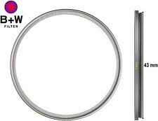 New B+W 43mm T-Pro UV Filter Ultra Slim Titan Mount Multi-Resistant 66-1097748