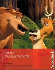 Learning Autodesk Maya 8|Foundation +DVD, Autodesk Maya Press,189717733X, Book,