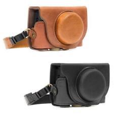 MegaGear Genuine Leather Camera Case for Sony DSC-RX100 VI, RX100 V, RX100 IV
