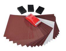 New Powerfix  Sandpaper set/24 pcs set