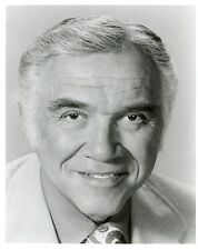 LORNE GREENE SMILING PORTRAIT GRIFF ORIGINAL 1973 ABC TV PHOTO