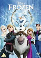 Frozen con Oro Ovalado Clásico No 52 On The Espina Walt Disney GB DVD L. Nuevo