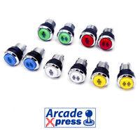 Boton Arcade LED iluminado Pulsador Player Botones Pushbutton Recreativa Bartop