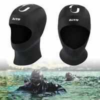 Winter Neoprene Wetsuit Stretch Hat Hood Black Cap Surfing Diving Kayaking Scuba