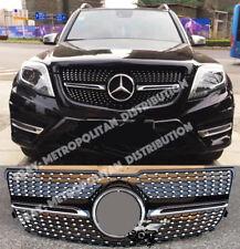 Mercedes GLK/X204, LCi, 2012+, Star/Diamond AMG calandre, noir, 200 220 250 350 CDI
