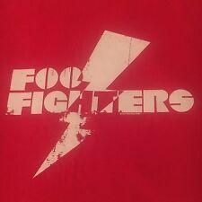2007 licensed Foo Fighters t shirt-Lightning Bolt Logo Graphics-dave grohl-(L)