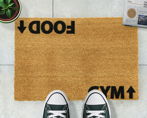 Gym addict doormat