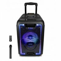 iDance 200W Bluetooth Portable PA Speaker Active Sound System Wireless Mic FM