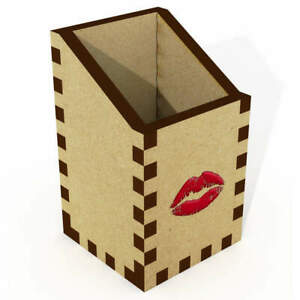 'Red Lipstick Kiss' Desk Tidies / Pencil Holders (DT029889)
