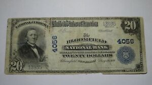 $20 1902 Bloomfield New Jersey NJ National Currency Bank Note Bill Ch #4056 RARE