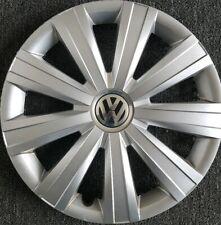 """Factory Original VW Volkswagen Jetta 2011-2015 Hubcap 15"""" OEM 5C0601147"""