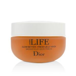 NEW Christian Dior Hydra Life Glow Better - Fresh Jelly Mask 50ml Womens Skin