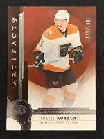2016-17 UPPER DECK ARTIFACTS TRAVIS KONECNY ROOKIE #ed 393/799