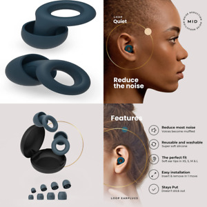 Loop Quiet Noise-Blocking Earplugs – Super Soft, Reusable Hearing Protection.