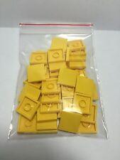 LEGO Lot de 50 Flat Tile 2x2 Br. Yel Neuf Jaune Plaque Lisse 306824 Yellow