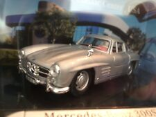 Pebble Beach Concours, Mercedes Benz 300Sl Gullwing die cast car, from Mercedes.