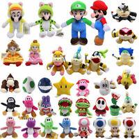 "Koopalings Super Mario Bros 7"" Koopa Plush Toy Stuffed Doll Kids Gift USA Stock"