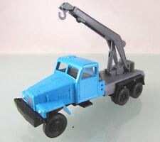 H0 s.e.s/14 1015 05: IFA g5 kranwagen neutral azul/gris