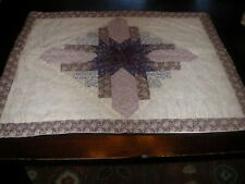 New Pair100% Cotton Quilted Patchwork Standard Pillow Shams