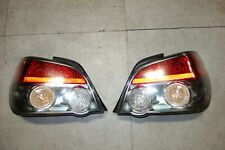 JDM Subaru Impreza WRX STi Sedan 4-Door RS TS Tail Lights Lamps 2004-2007 V9 GD