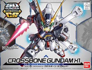 SD Gundam Cross Silhouette Crossbone Gundam X1 Gunpla Bandai