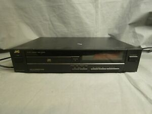 JVC compact disc CD player XL-V101 black Hi-Fi separate