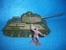 Classic Toy Soldiers (CTS) WWII Russian T-34 tank with long barrel
