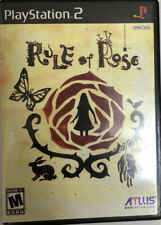 Rule of Rose || Authentic Case Only || - PS2 Playstation 2 No Manual