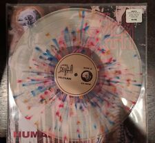 Death - Human Clear With Splatter Vinyl LP 300 Pressed