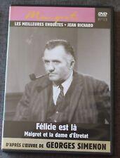 Jean Richard, Felicie est là & Maigret et la dame d'Etretat, DVD N°13