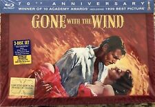 Gone With the Wind (Blu-ray Disc, 2009, 4-Disc Set, 70th Anniversary Ultimate Co