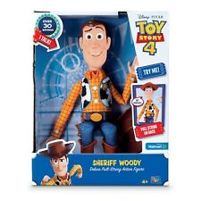 Toy Story 4 Sheriff Woody New Talking Figure 16""