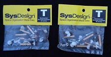 2) PACKS OF MacMillan SysDesign CONNECTOR SCREWS W/ CAPS