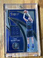 2019-20 Dirk Nowitzki Panini Select Basketball Game Used Jersey Mavericks 🔥🔥